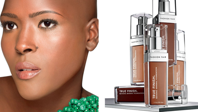 Fashion Fair Beauty Products: Fashion Fair Cosmetics Launches First-Ever Mineral Liquid