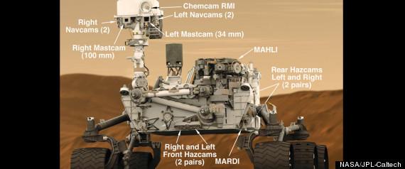 MARS ROVER CAMERAS