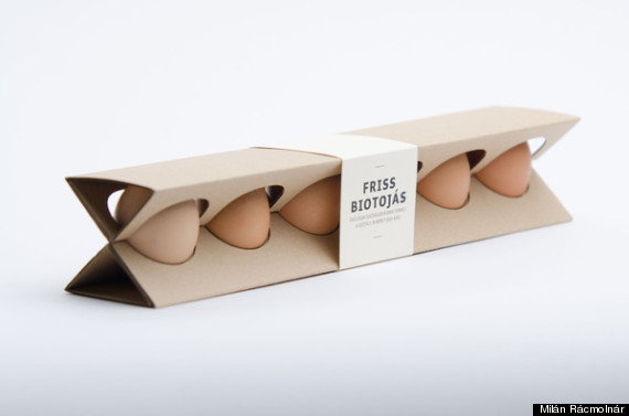 redesigned egg box
