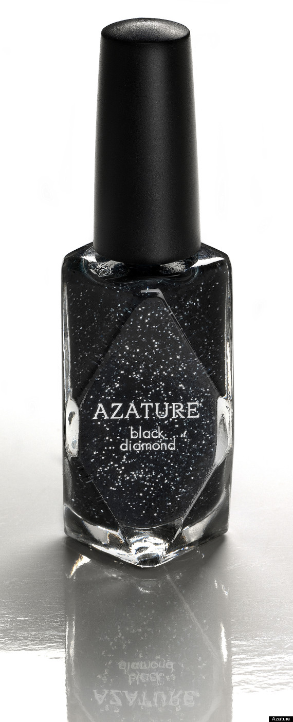black diamond nail polish