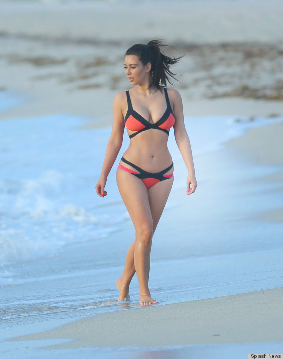 Scroll down for more photos. kim kardashian bikini
