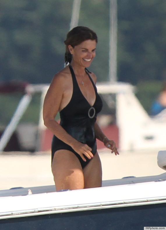 maria shriver bikini