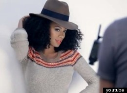 WATCH: Solange Knowles Strikes A Pose For Madewell