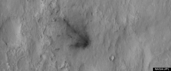 MARS ROVER FROM SPACE PHOTO