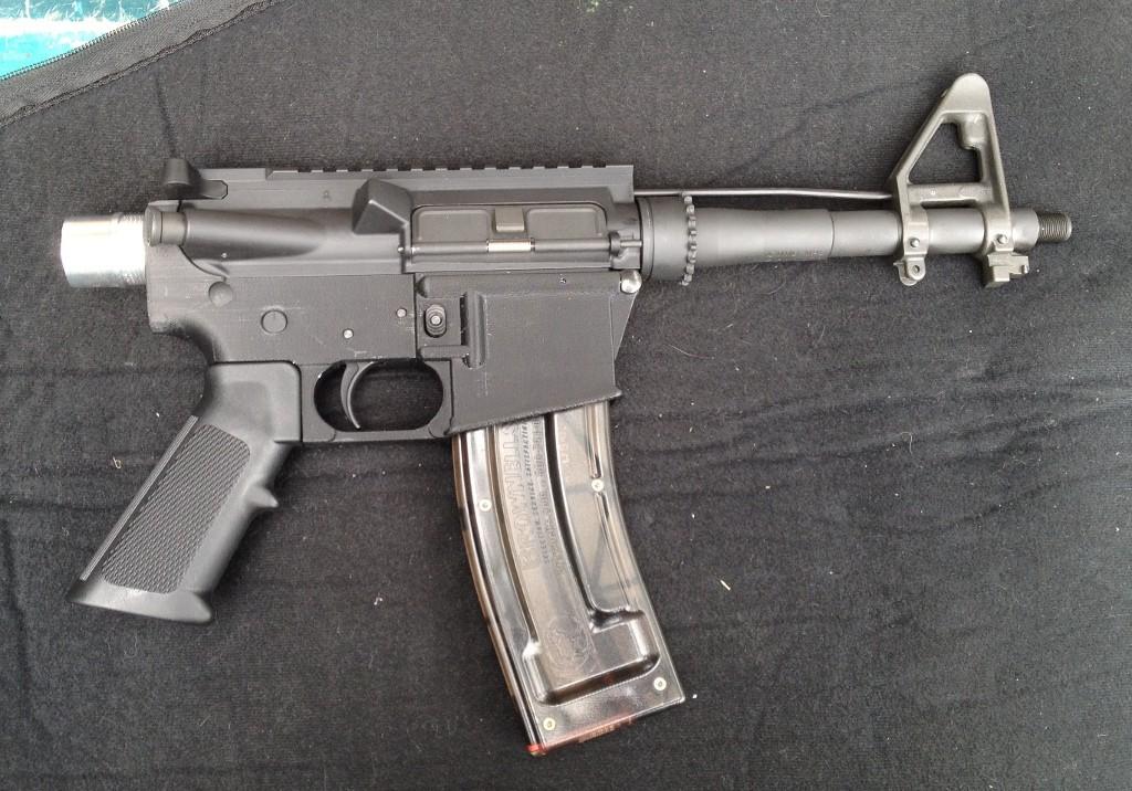 3d printed rifle