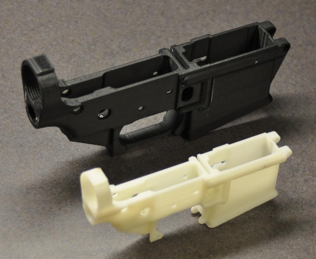 assault rifle 3d