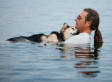 Photographer Captures Tender Moment Between Man And His Sick Dog In Lake Superior (PHOTO)
