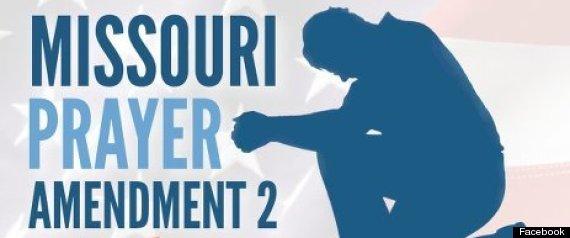 MISSOURI PRAYER AMENDMENT