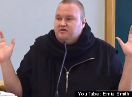 Kim Dotcom Raid Video