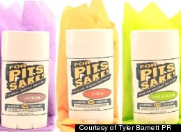 For Pits Sake Natural Deodorant