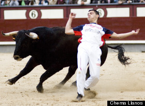 recortes bullfight