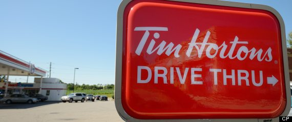 TIM HORTONS EARNINGS Q2