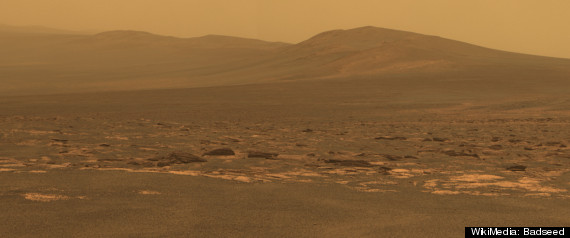 Mars Landscapes Include Red Planet's Craters, Hills, Rocks ...