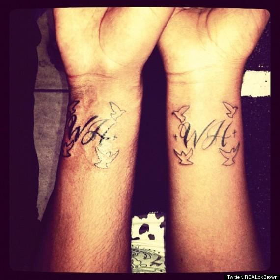 Bobbi Kristina, Boyfriend Nick Gordon Get Tattoo In Mom