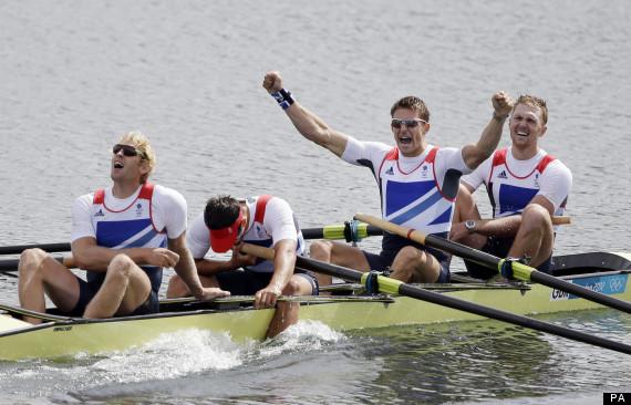 mens four olympics