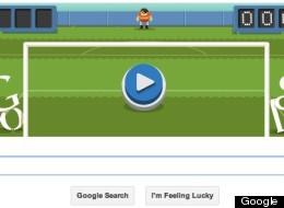 google logo games soccer