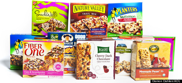 Cereal bars brands