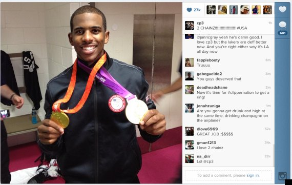 chris paul instagram