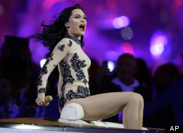 Jessie J Olympic Ceremony Outfit
