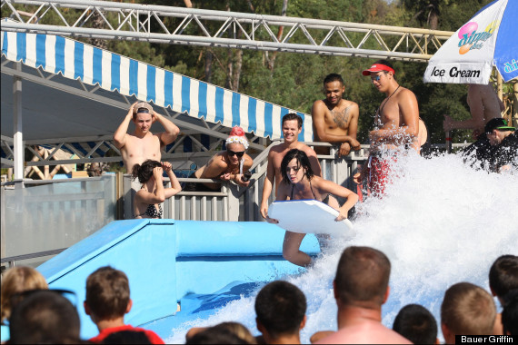 Katy Perry Has Bathing Suit Malfunction At Water Park (PHOTOS)