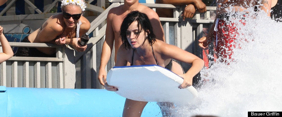 Katy Perry Bathing Suit Wardrobe Malfunction