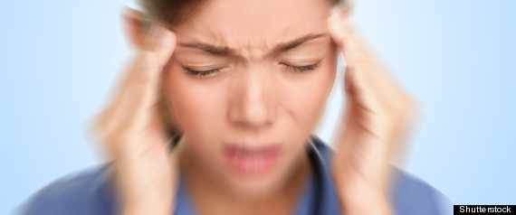 Woman With Migraine Brain Health