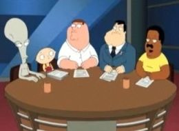 Family guy and American dad