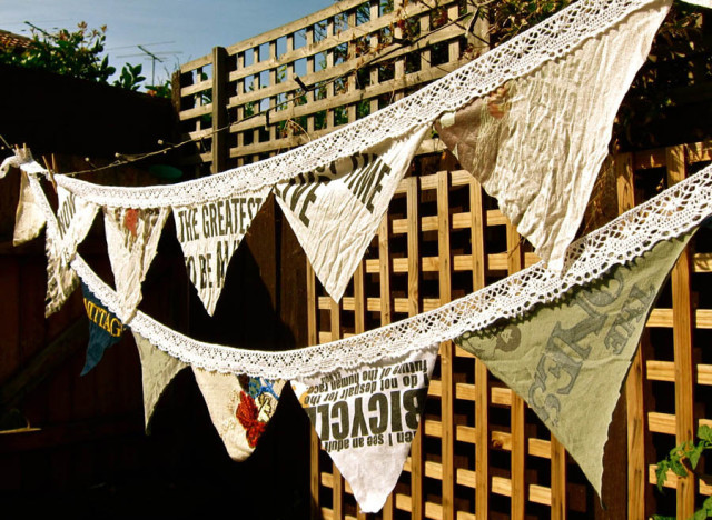 craft of the day tshirt bunting