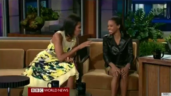 michelle obama gabby douglas