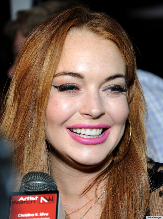 Business your lindsay lohan red lips that interrupt