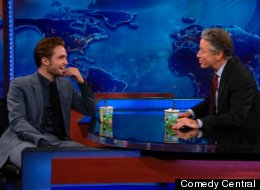 Robert Pattinson Jon Stewart