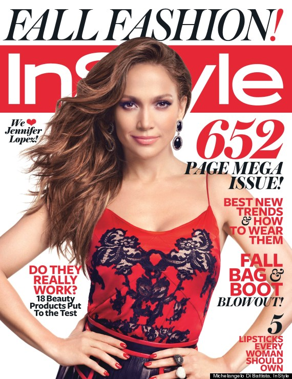 o JENNIFER LOPEZ INSTYLE SEPTEMBER 2012 570 Fall In! We Devour 2,754 Pages of September Issues