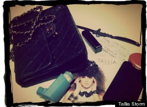 inside tallias bag