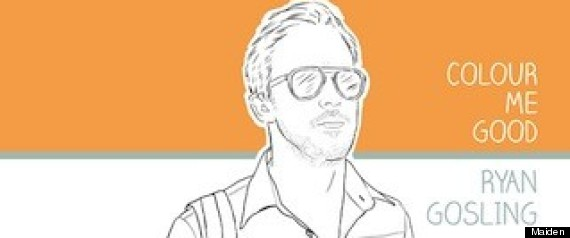 Ryan Gosling Colouring Book