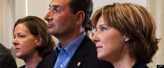 ALISON REDFORD CHRISTY CLARK