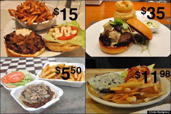 burger graphic
