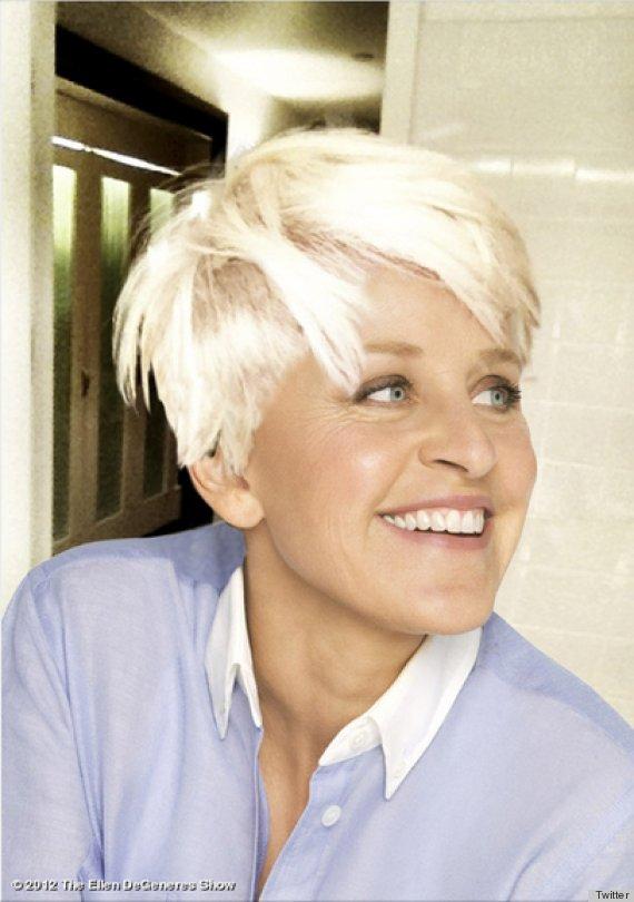 Surprising Miley Cyrus Haircut Ellen Degeneres Tries The Controversial Look Short Hairstyles For Black Women Fulllsitofus