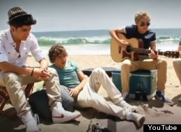 One Direction Wonderwall Cover Video