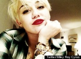 Miley Cyrus New Haircut
