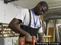 Program Puts Ex-Offenders To Work Recycling Old Houses