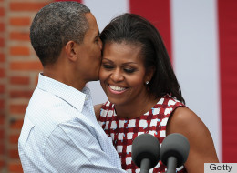 PHOTOS: Barack & Michelle PDA-Fest In Iowa