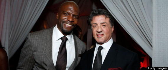 TERRY CREWS SYLVESTER STALLONE
