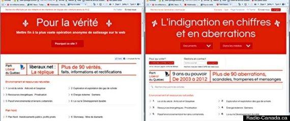 SITE WEB LIBERAUX