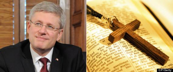 STEPHEN HARPER RELIGION CHRISTIANITY