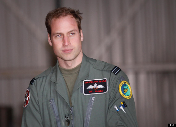 raf prince william