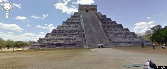 Google Street View Mayan