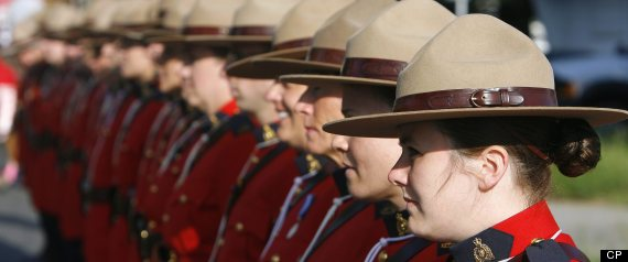 FEMALE MOUNTIES