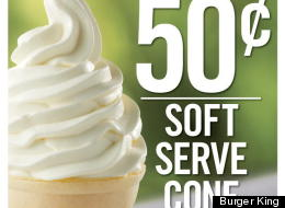 Burger King Vanilla Soft Serve