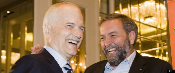 JACK LAYTON THOMAS MULCAIR