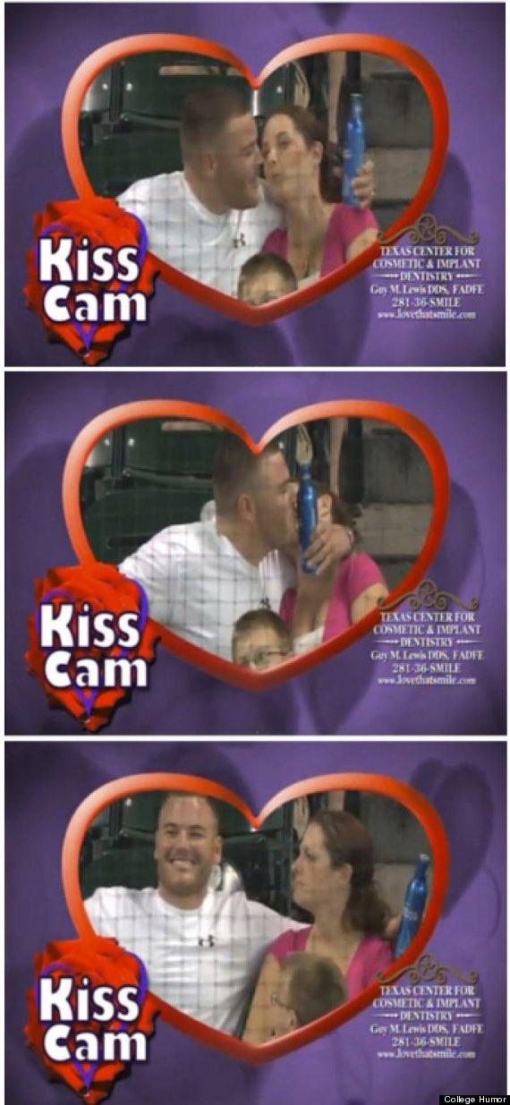kiss cam beer